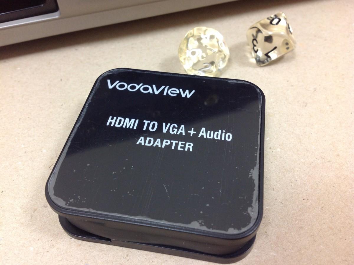 HDMI-VGAアダプタ