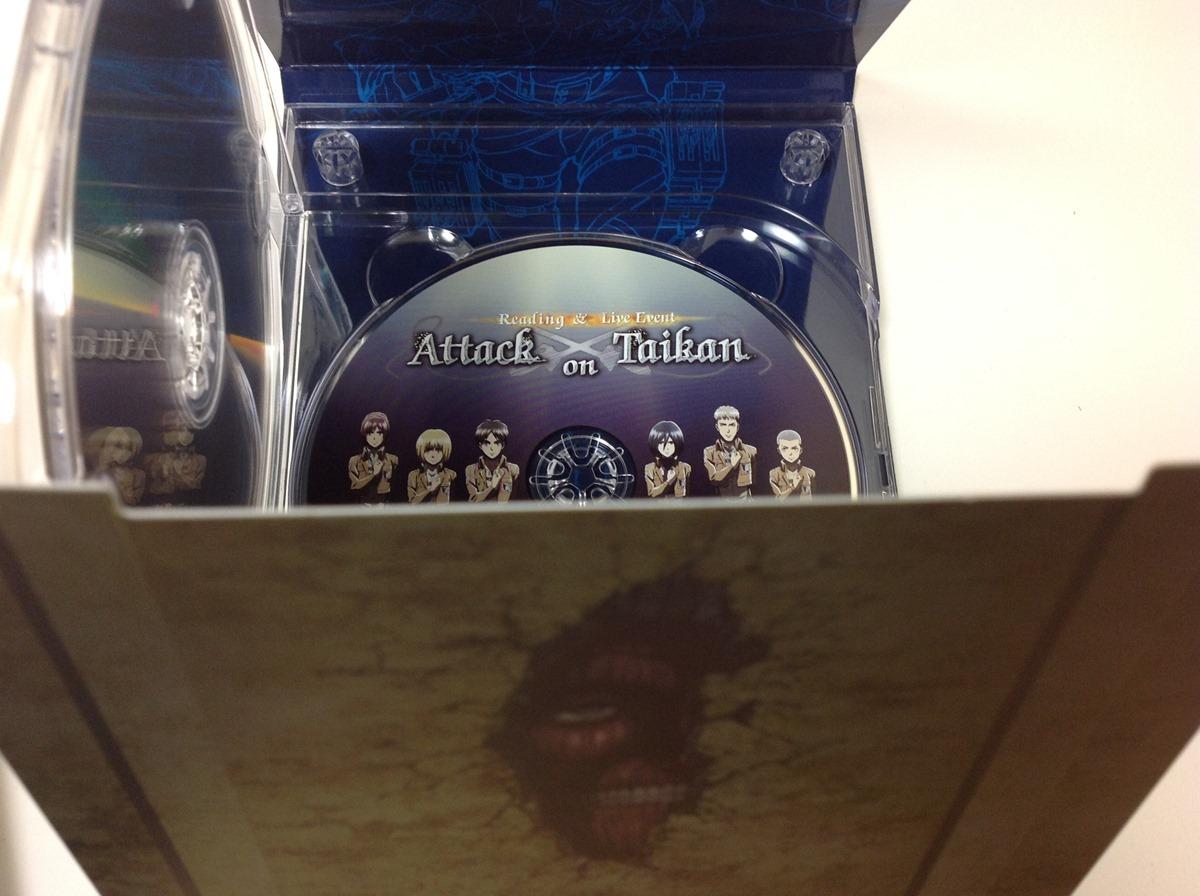 アニメ版進撃の巨人第9巻パッケージ展開と「Attack 音 体感」ライブBD